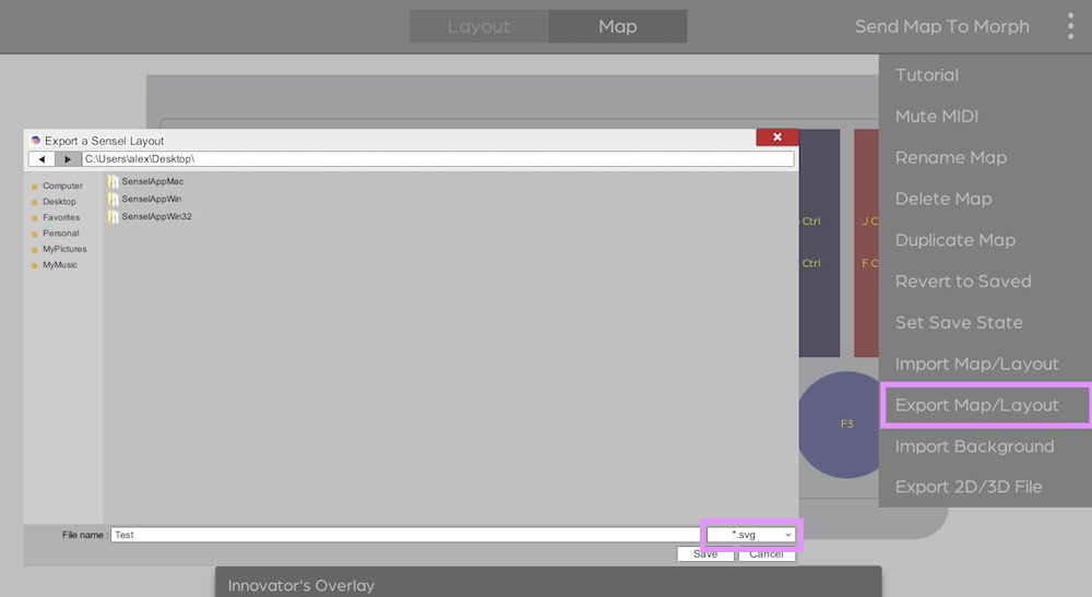 Export Overlay Design