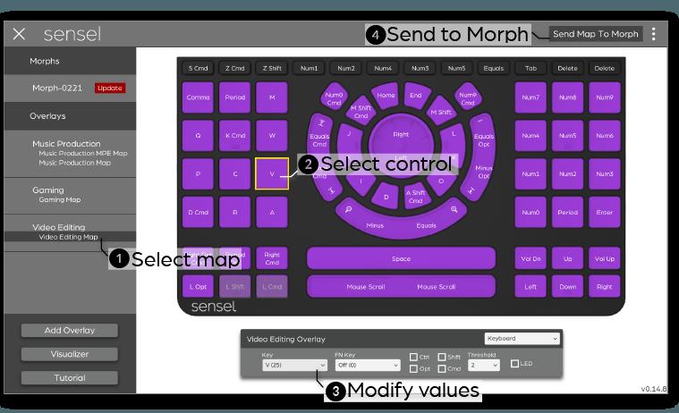 SenselApp - Sensel Morph Documentation