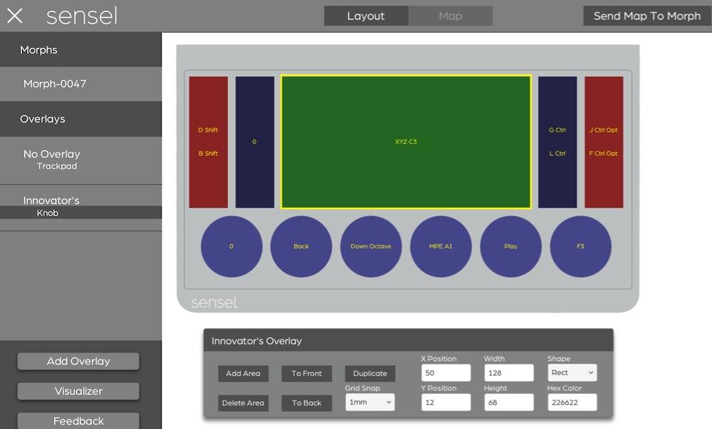 Overlay Designer - Sensel Morph Documentation